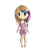 Chibi me by Rainydaysmiles