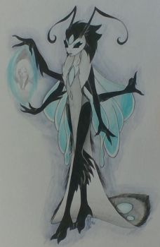 the mother glowfly by vampiricdemoncutie