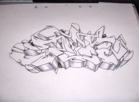 Sketch - 4 Oct, 2007 by hundone