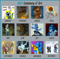2012 Art Summary by Songficcer