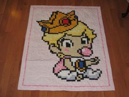 Baby Princess Peach by quiltoni