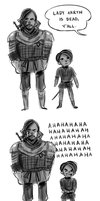 Game Of Thrones Doodle S4 E8 by BemiTellove