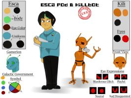 Judge: Esca and Killbot's reference by any204