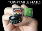 Turntable Nails by Ninails