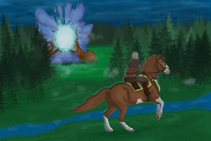 Libahunt Task 1 - .:To The Portal:. by BraveWellfareVisions