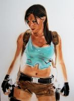 Lara Croft - Tomb Raider by SpringzArt