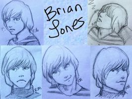 Brian sketches by greengal14