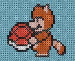 Mario Cross Stitch 2 by drsparc