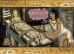 The Mummy's Curse by Augustine by CeeAyBee