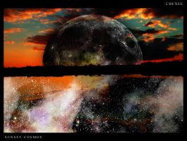 Sunset Cosmos by Chexee