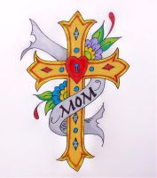 Ed Hardy Cross for Mom by TheJokesOnYou