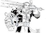 THE SWORD AND THE HELM by BLUEHAWK-55
