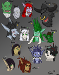 Characters: Lost but Found by Vash2214