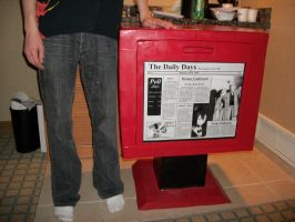 Shizuo's Newspaper Box by ArchonicZen