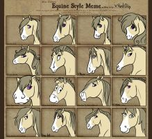 .Equine Style Meme. by xRedLily