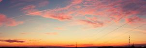 Panorama Sirzenich Sunset by Fi3uR