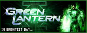 Green Lantern banner by Photopops