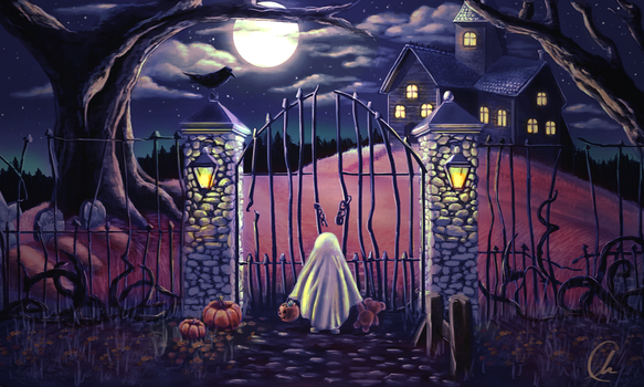 Trick or Treat by alexrcreamer