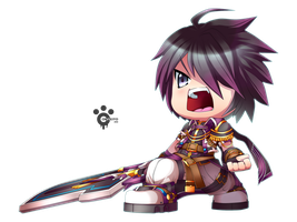 Grand Chase : Sieghart - Prime Knight by Conveito
