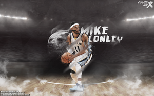 Mike Conley Wallpaper by Kevin-tmac
