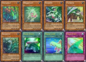 Grass Starters - Yugioh Cards by GreenboyBigZ