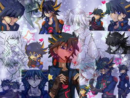 Yusei - Heavens Gate Wallpaper by AsukaRose
