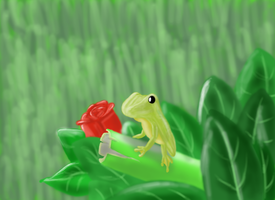 Froggy by ponyus94