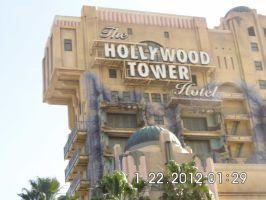The Hollywood Tower of Terror Ride by emogal96