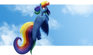 Rainbows Flight by RainbowGambler