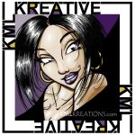 Eve Violet - Channel Icon Art by kmlkreations