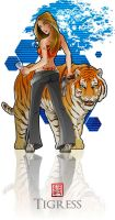 Tigress by StevenZ
