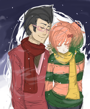 in the snow by beatoriche