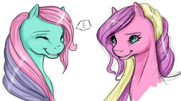 Ivy and Sundance by SilverMoonbreeze