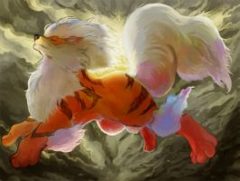 Arcanine by marucoboolo