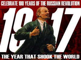 Russan Revoution Centenary Poster by Party9999999