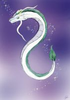 River spirit Haku by Blueberrystarbubbles