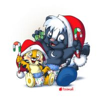 Merry Christmas n Happy Holidays by Tavi-Munk
