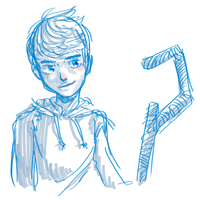 Jack Frost doodle by Taiikodon
