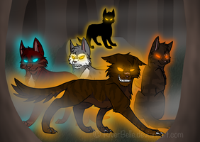 Welcome To The Dark Forest 2014 Remake by RiverBelle