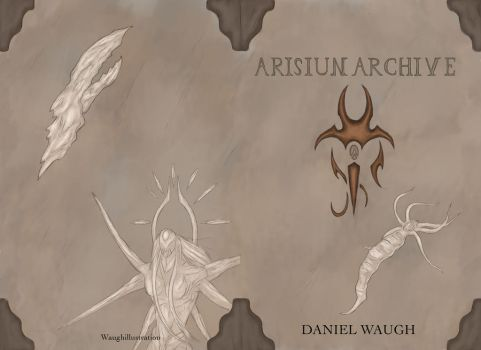 Arisiun Archive journal cover by Soulslayer317
