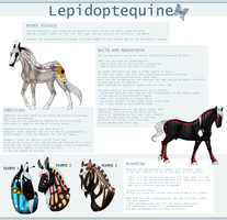 Lepidoptequine - Breedsheet by SWC-arpg