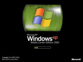 Windows XP Media Center 2005 by thecat2000