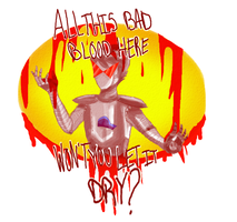 BAD BLOOD by honking-capricorn