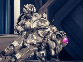 Halo 4: Hush Little Spartan by PurpleGhost204
