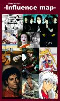My Influence Map by LeNe-weee