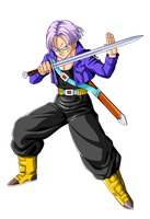 Trunks with sword by EmiyanSaiyan