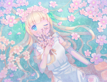 Feel the Spring by SakuraAlice33