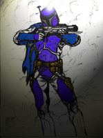 mandalorian super-commando by UGCcomics