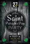 Saint Patrick`s Day Party flyer by iorkdesign