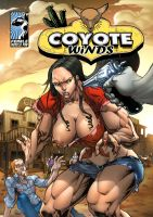 Coyote Winds - Alternate Cover by muscle-fan-comics